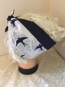 Swallow - Vintage inspired do-rag