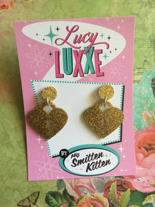 Locket earrings - GOLD