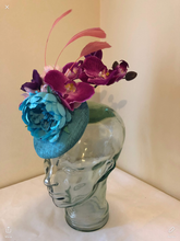 Load image into Gallery viewer, VASHTI - beautiful bespoke pillbox hat