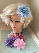 Load image into Gallery viewer, DAHLIA - pastel flower hair clip - various colours