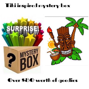 MYSTERY BOX ... tiki inspired