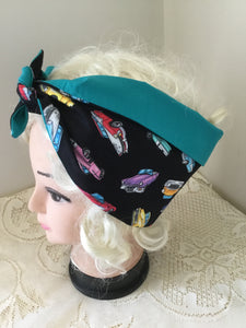 Cars - vintage inspired do-rags