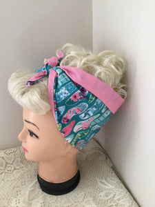 TROPICAL SURFBOARDS - vintage inspired do-rags