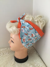 Load image into Gallery viewer, KOI / GOLDFISH - vintage inspired do-rags