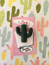 Load image into Gallery viewer, SOUTH OF THE BORDER - cactus 🌵brooch - various colours