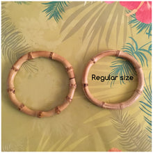 Load image into Gallery viewer, PLUS SIZE - Bamboo bangles - natural