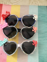 Load image into Gallery viewer, BARBIE  inspired heart sunglasses - various colours
