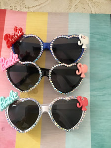 BARBIE  inspired heart sunglasses - various colours