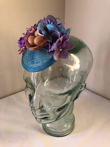 MILLY ..  vintage inspired mini fascinator