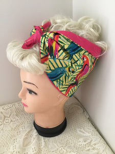 PARROTS 🦜 - vintage inspired do-rags