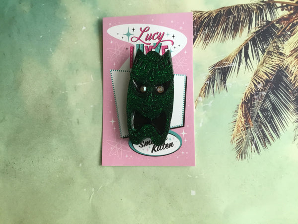 Tiki Tom ... tiki brooch