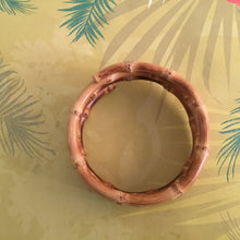 Load image into Gallery viewer, 3 TIERED bamboo bangle - natural