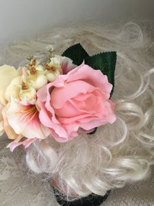 JANINE - hair flower cluster