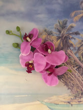 Load image into Gallery viewer, MIA - long orchid clip - various colours