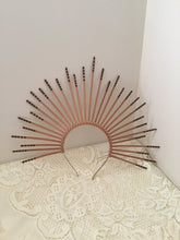 Load image into Gallery viewer, HALO - SUNBURST crown - Bronze