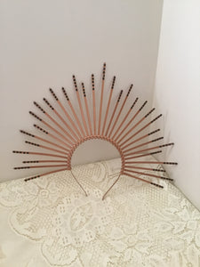 HALO - SUNBURST crown - Bronze