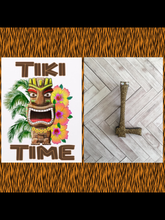 Load image into Gallery viewer, L - TIKI font initial brooch , exclusive design - various colours