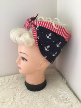 Load image into Gallery viewer, AHOY SAILOR - Vintage inspired do-rag
