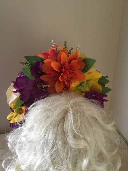 ALYCE ... flower crown .. occasion wear ...FREE POSTAGE (aust) ..on checkout