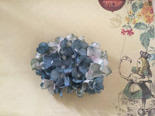 Load image into Gallery viewer, HELENA - hydrangea hairflower - Blue