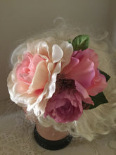 Load image into Gallery viewer, MANDY - large vintage inspired cluster hair flower