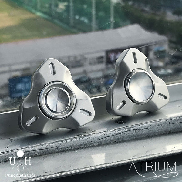 Atrium Spinner by UQH - Original Unquiet Hands Design