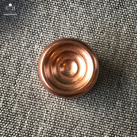 COPPER COLLIDER BUTTONS - FSW - 22 MM