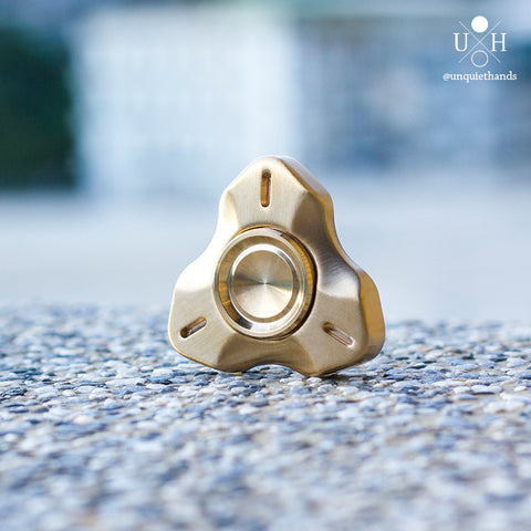 BRASS ATRIUM SPINNER - UQH ORIGINAL DESIGN