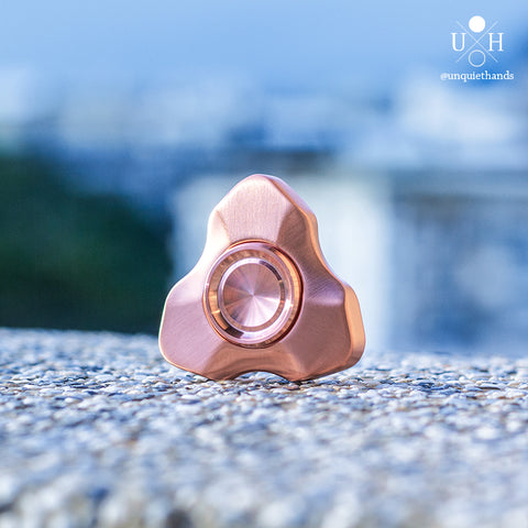 COPPER ATRIUM SPINNER (SLOTLESS) - UQH ORIGINAL