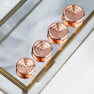 COLLIDER BUTTONS - COPPER - LOW PROFILE