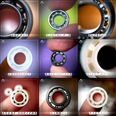 SAMPLE PACK - 10 DIFFERENT BEARINGS