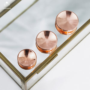 POND BUTTONS - COPPER - LOW PROFILE