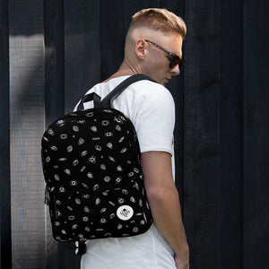 Unquiet Spins - UQH Backpack - Black