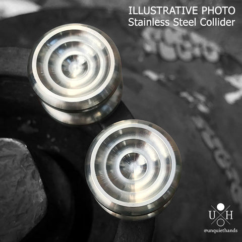 SS COLLIDER BUTTONS - 22 MM - RETENTION AND PRESSFIT