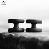 22 MM - SS VERTIGO BUTTONS - BLACK - HIGH PROFILE