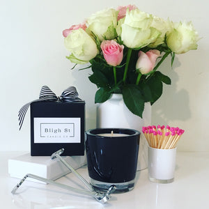 Velino Candle Gift Set Black