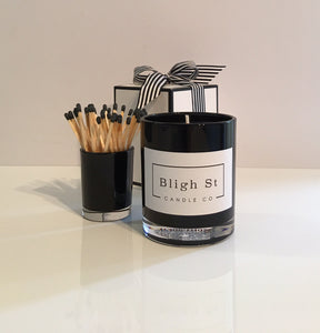Wild Lemongrass Candle - Oxford Black