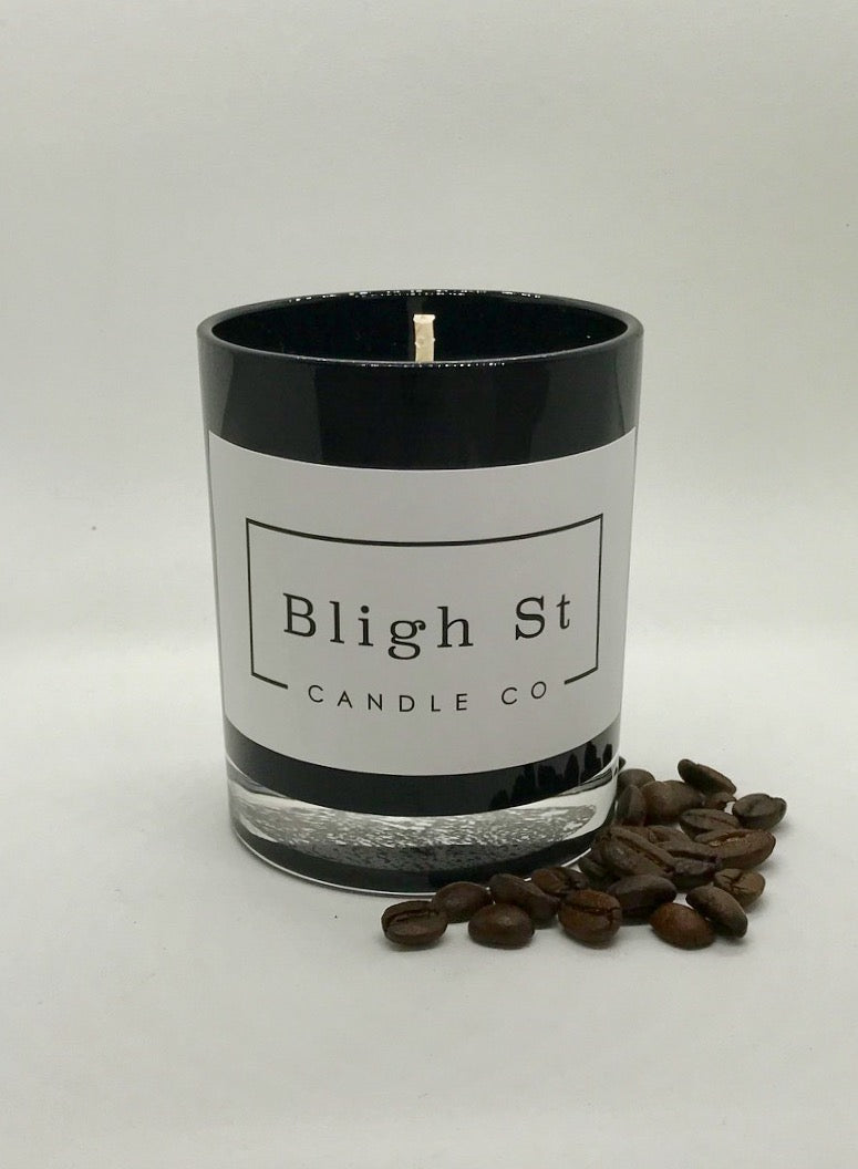 Fresh Coffee Candle - Oxford Black