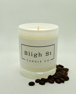 Fresh Coffee Candle - Oxford White