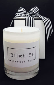 Wild Lemongrass Candle - Oxford White