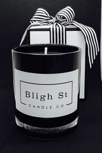 Coconut Lime Candle - Oxford Black