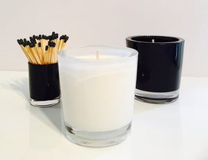 Orange & Bergamot Candle Velino White