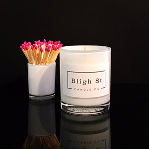 Pink Champagne & Exotic Fruits Candle - Oxford White