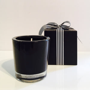 Wild Lemongrass Candle Velino Black