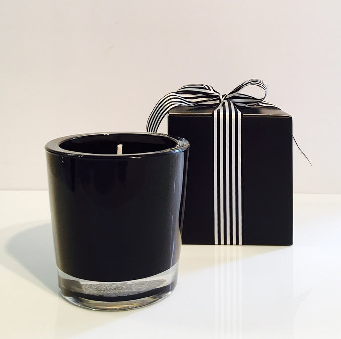 Orange & Bergamot Candle Velino Black
