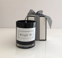 Vanilla, Patchouli & Sandalwood Candle - Oxford Black