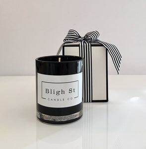 Sweet Neroli & Basil Candle - Oxford Black