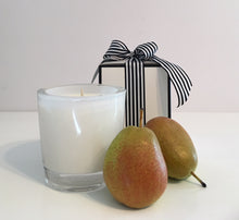 French Pear Candle Velino White