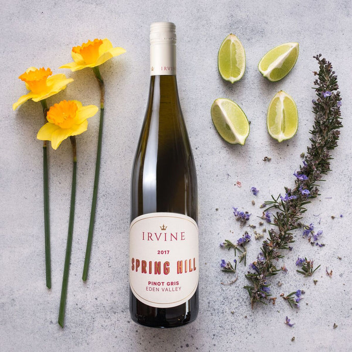 Food Wine Matching - 2017 Spring Hill Pinot Gris