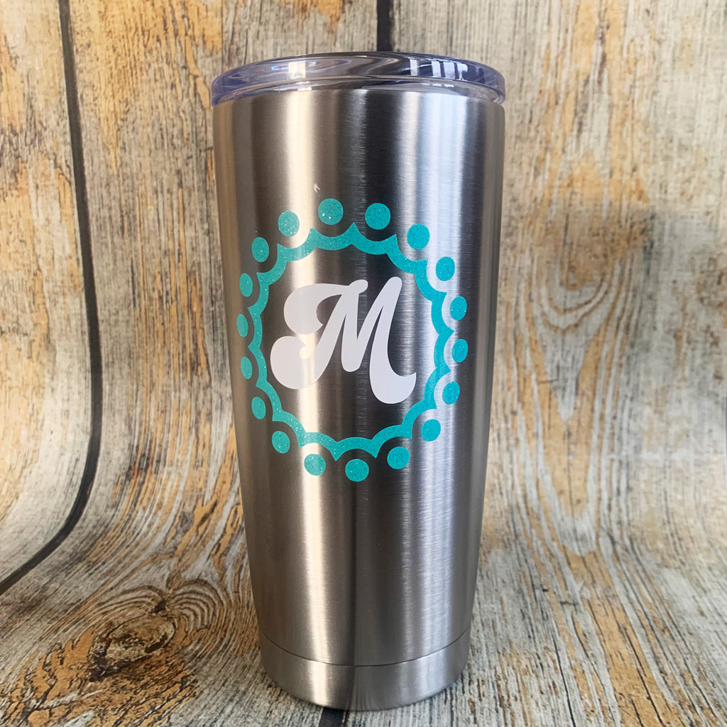 20oz. Personalized Stainless Tumblers
